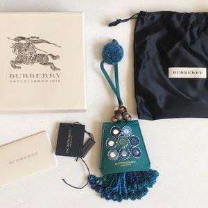 NEW Burberry Prorsum Beaded Luggage Tag